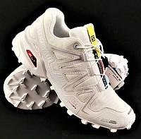 Кроссовки Salomon Speedcross 3 Белые Мужские Саломон (размеры 42, 43, 44)