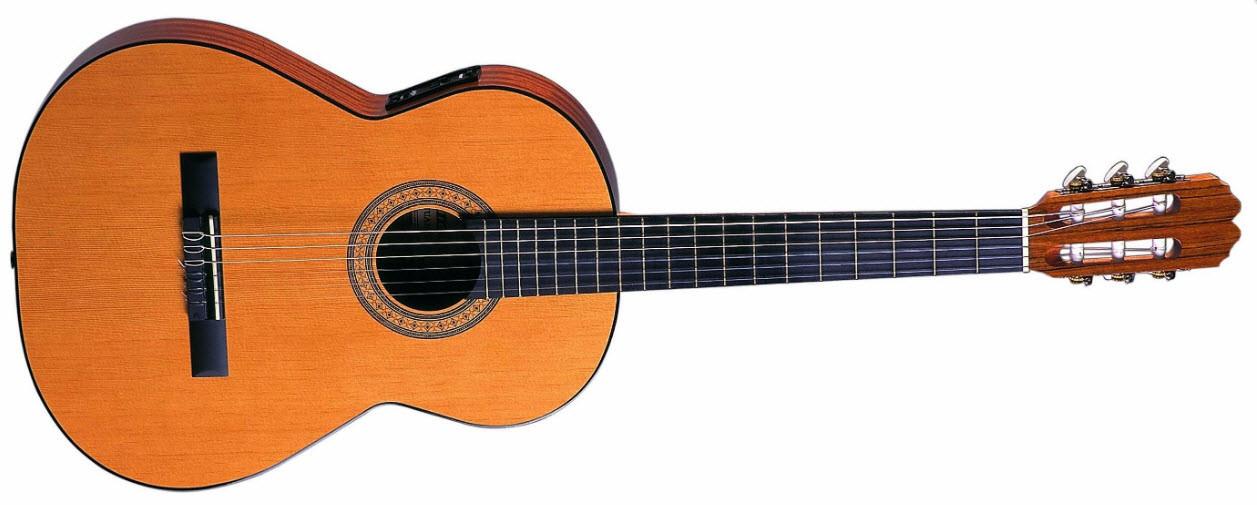 Классическая гитара  с пьезозвукоснимателем и темброблоком Shadow P3B ADMIRA JUANITA E