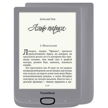 Электронная книга PocketBook 616 Matte Silver (PB616-S-CIS)