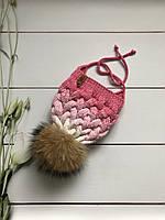 Вязаная шапка. Ручная вязка., фото 1