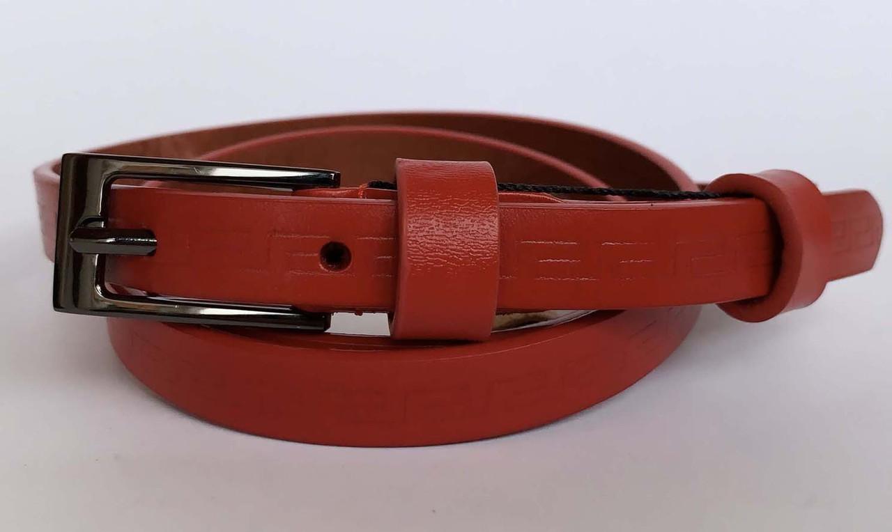 Жіночий ремінь, колір червоний, 135/165 грн (ціна за 1шт.+30 грн)
