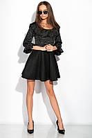 Платье 120PLL7785 (Черный)