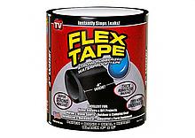 Прорезиненная водонепроницаемая клейкая лента Flex Tape 10х150 см Black