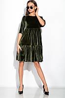 Платье 120PMA1677 (Темный хаки)