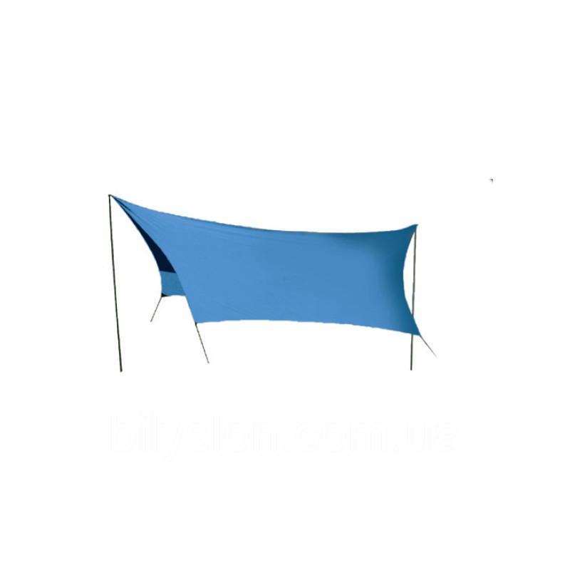Тент Tramp Lite 440 x 440 см синій SLT-036.06. Тент туристичний. Тент кемпінговий
