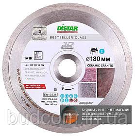 Алмаз диск Distar 1A1R 180x1,6x8,5x25,4 Bestseller Ceramic granite