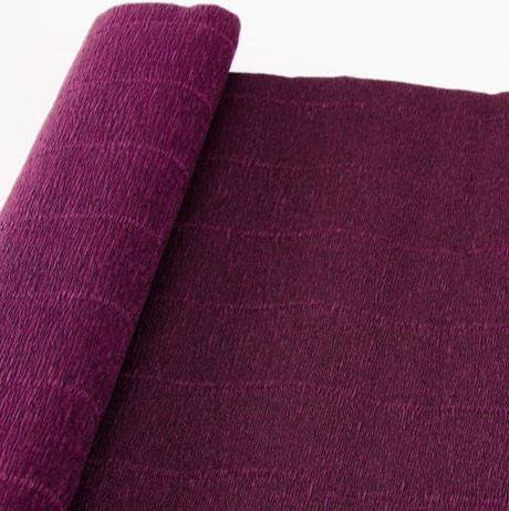 Креп бумага 588 бордовая Cartotecnica rossi, Италия