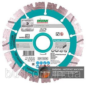 Алмазный диск Distar 1A1RSS/C3-H 180x2,6/1,8x12x22,23-14 Technic Advanced