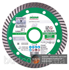 Алмазный диск Distar 1A1R Turbo 125x2,2x10x22,23 Elite