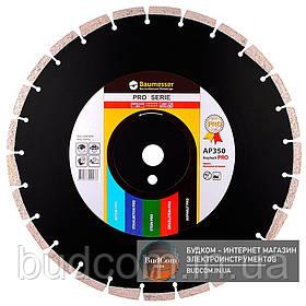 Алмазный круг Baumesser 350x3,5/2,5x10x25,4-24 Asphalt Pro F4