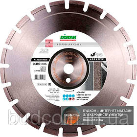Алмазный диск Distar 1A1RSS/C1-W 400x3,5/2,5x9x25,4-24 F4 Bestseller Abrasive