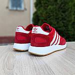 Женские кроссовки Adidas INIKI (красные) 20068, фото 2