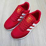 Женские кроссовки Adidas INIKI (красные) 20068, фото 5