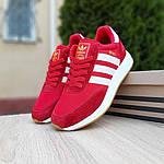 Женские кроссовки Adidas INIKI (красные) 20068, фото 7