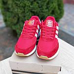 Женские кроссовки Adidas INIKI (красные) 20068, фото 8