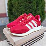 Женские кроссовки Adidas INIKI (красные) 20068, фото 9