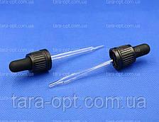 Скляна піпетка для флакона 50 мл/18 мм