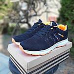 Женские кроссовки Adidas NEO (черно-оранжевые) 20070, фото 2