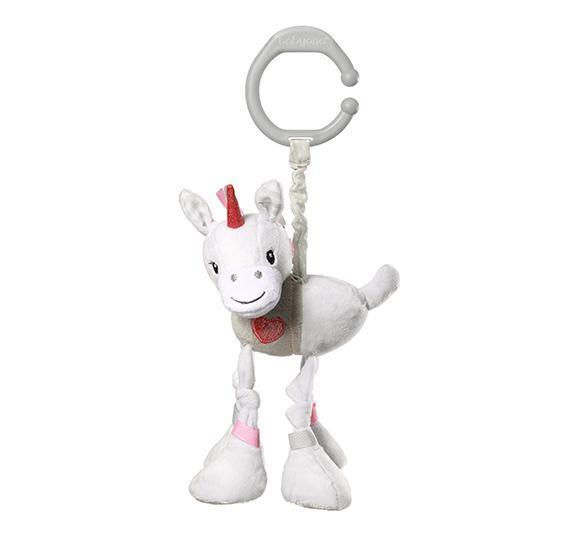 """Іграшка вібруюча """"Щастливий єдиноріг"""" (Висота 15 см) """"BabyOno"""""""