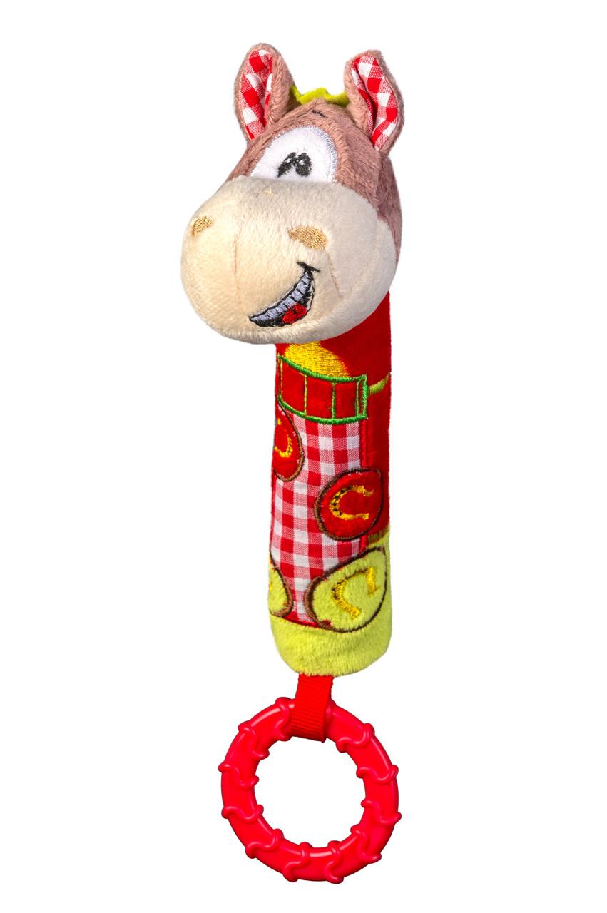 """Іграшка з пищалкою """"Веселий коник""""(Висота 20см) """"BabyOno"""""""