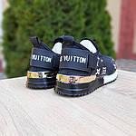 Женские кроссовки Louis Vuitton (черные) 20074, фото 3