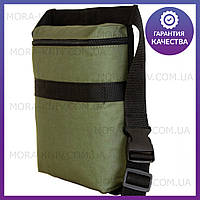 Поясная сумка для находок, сумка для находок, сумка на коп (2020-olive)