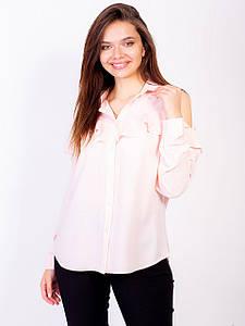 Стильная нежная блуза 2728