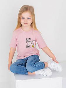 Детская футболка с цветным принтом 10025