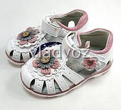 Детские светящиеся босоножки сандалии сандали с led подсветкой для девочки 23р 13,5см