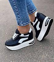Черные женские кроссовки маломерят 38 40 41р
