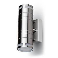 Світильник настінний V-TAC під світлодіодну лампу GLASS WALL FITTING STEEL BODY