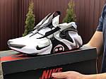 Мужские кроссовки Nike Adapt Huarache (бело-черные) 9241, фото 4