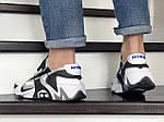 Мужские кроссовки Nike Adapt Huarache (бело-черные) 9241, фото 5