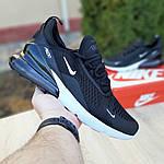 Мужские кроссовки Nike Air Max 270 (черно-белые) 1647, фото 2