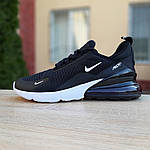 Мужские кроссовки Nike Air Max 270 (черно-белые) 1647, фото 8
