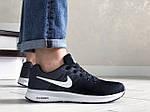 Мужские кроссовки Nike ZOOM (черно-серые с белым) 9243, фото 5