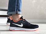 Чоловічі кросівки Nike ZOOM (чорно-білі з помаранчевим) 9247, фото 3