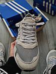 Мужские кроссовки Adidas Nite Jogger (черно-оранжевые) 358PL, фото 3