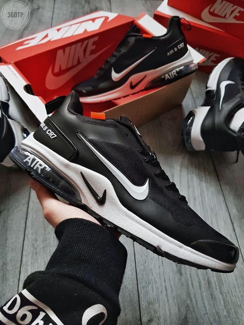 Мужские кроссовки Nike Air Presto CR7 (черно-белые) 360TP