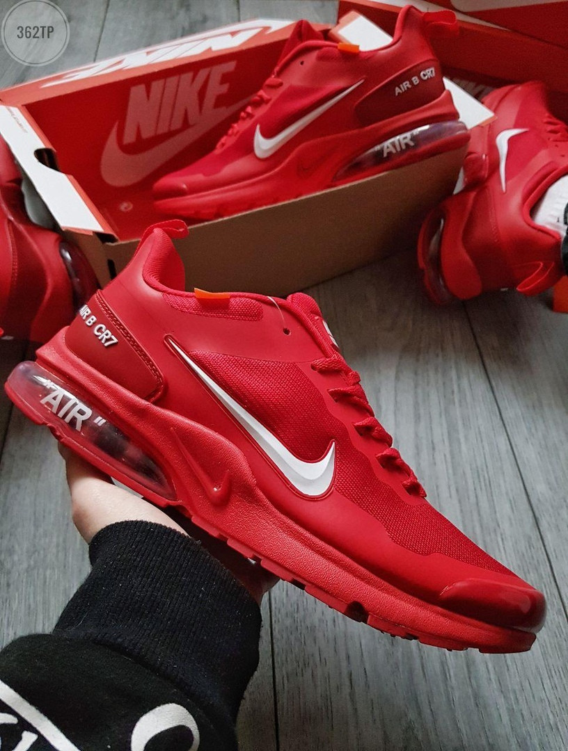 Чоловічі кросівки Nike Air Presto CR7 (червоні) 362TP