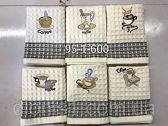 Кухонное полотенце кофе. Состав: хлопок, Размер 35*70 кол-во 600 шт