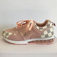 Кросівки жіночі рожеві LaVento