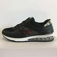 Кросівки жіночі сітка літні чорні LaVento 40