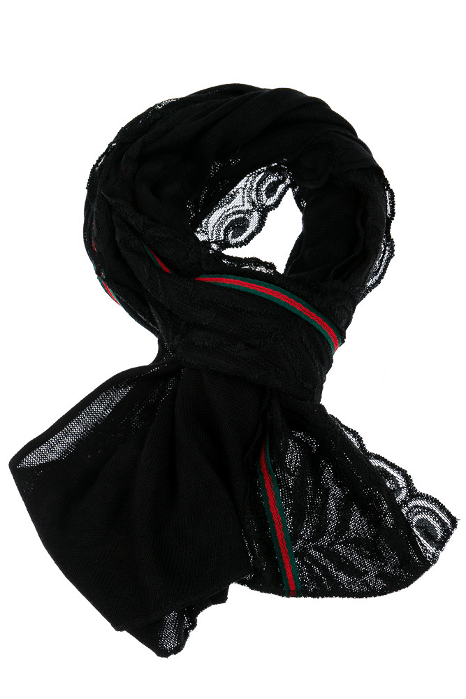 Шарф женский 137P004 (Черный)