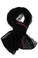 Шарф женский 137P004 (Черный), фото 1