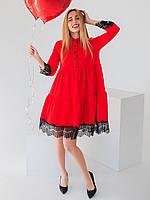 Платье с красивым кружевом 2930, фото 1