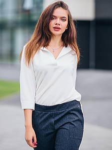 Базовая блуза с рукавом ¾ 2805