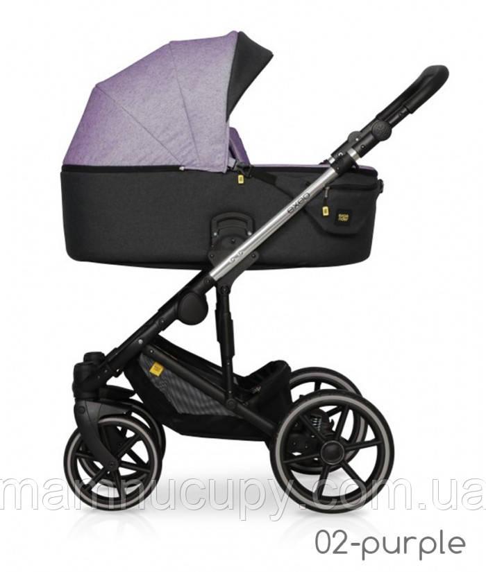 Дитяча універсальна коляска 2 в 1 Expander Exeo 02 Purple