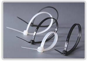 Хомут Apro пластиковый 2,5х100 белый (Турция) (паков - 100шт) UNIFLEX