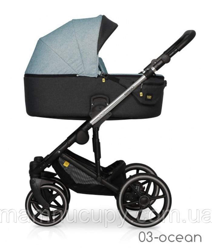 Детская универсальная коляска 2 в 1 Expander Exeo 03 Ocean